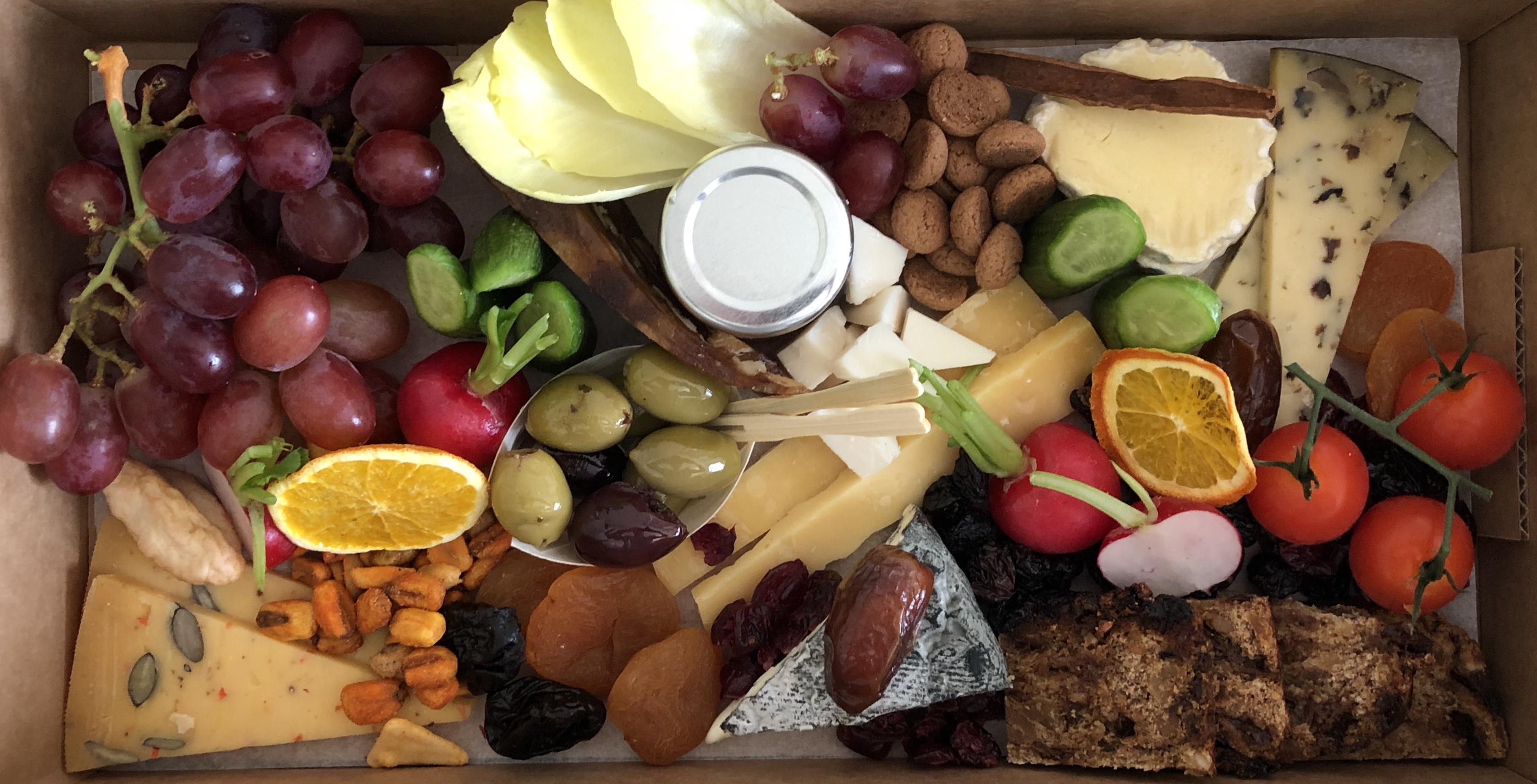 vegetarische borrelbox